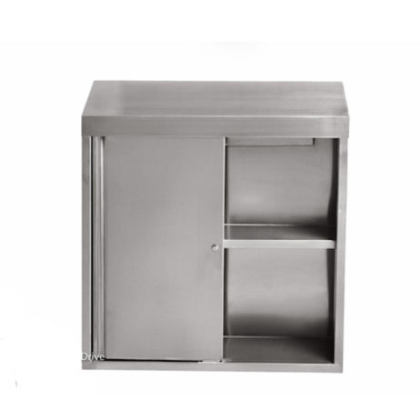 stainless steel wall cabinet sliding 15x60