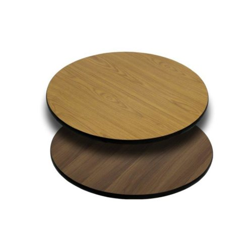 walnut oak reversible table tops 30