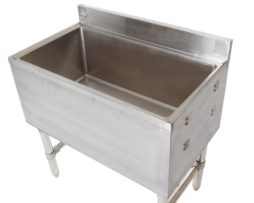 commercial ice chest bin 18x48