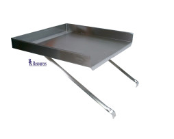 stainless steel commercial add on drain board 18x24