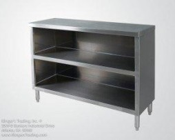 stainless steel commercial dish cabinet 30x36