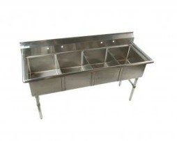 4 Compartment Sink, 18g
